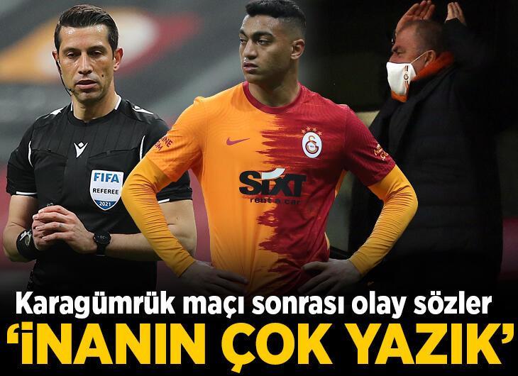 Galatasaray - Fatih Karagümrük maçı sonrası şok sözler: İnanın çok yazık! Ali Palabıyık kırmızı kart pozisyonunda...