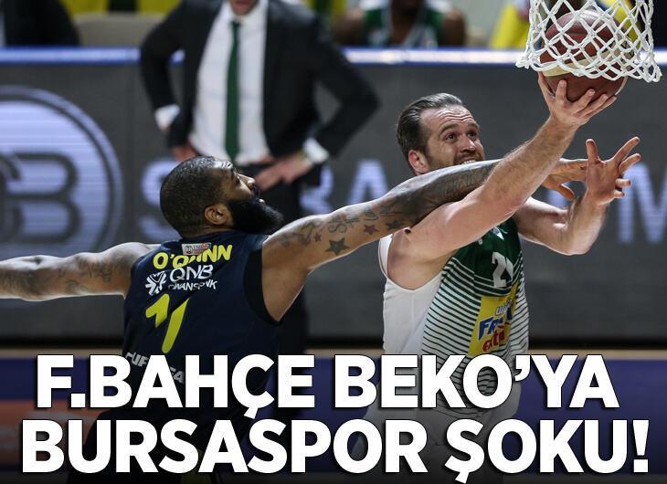 Frutti Extra Bursaspor - Fenerbahçe Beko: 82-77