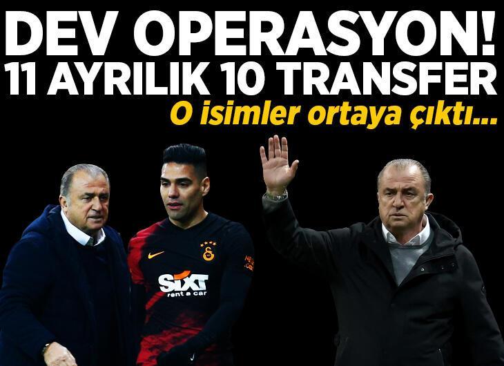Karagümrük maçı sonrası Galatasaray'da dev operasyon! Tam 11 isim ayrılıyor 10 transfer geliyor...