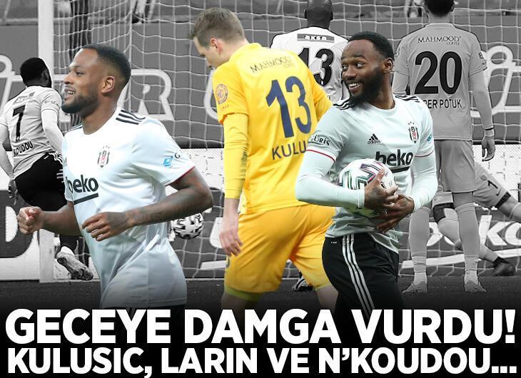 Beşiktaş - Ankaragücü maçına damga vuran olay! Ante Kulusic, Cyle Larin ve N'Koudou...