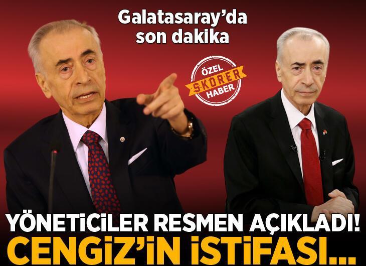 Galatasaray Başkanı Mustafa Cengiz'den flaş karar! Yöneticiler resmen açıkladı
