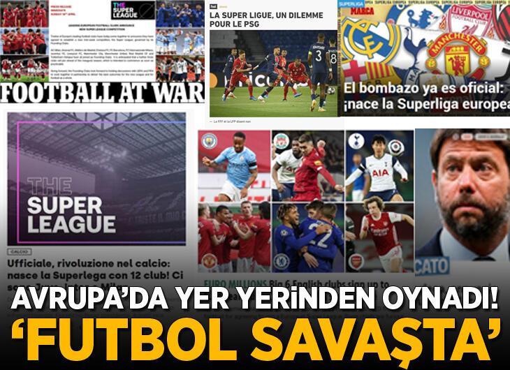 Avrupa futbolunda yer yerinden oynadı! 'Devrim, futbol savaşta'