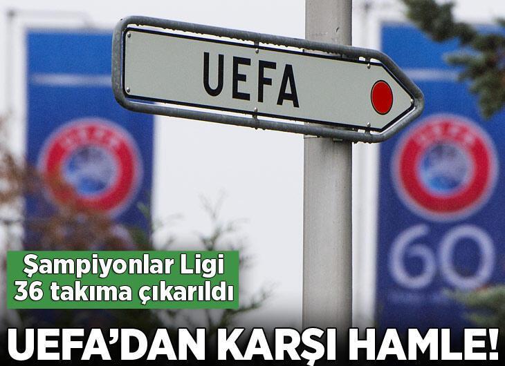 UEFA Şampiyonlar Ligi 36 takımla oynanacak!