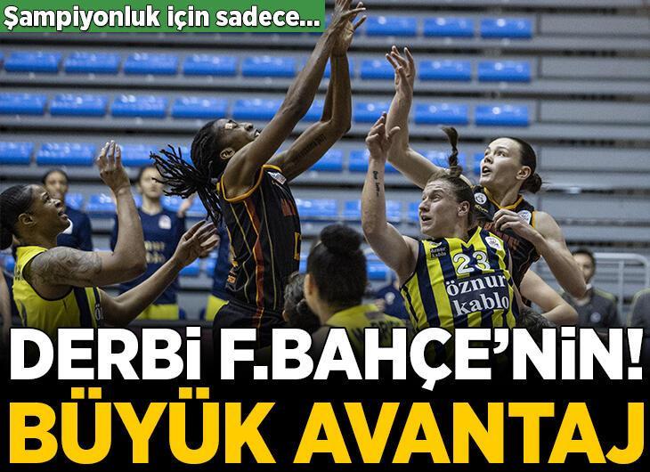 Fenerbahçe derbide Galatasaray'ı yendi!