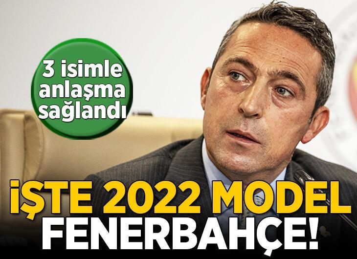 Transfer bombaları art arda patladı! İşte 2022 model Fenerbahçe...