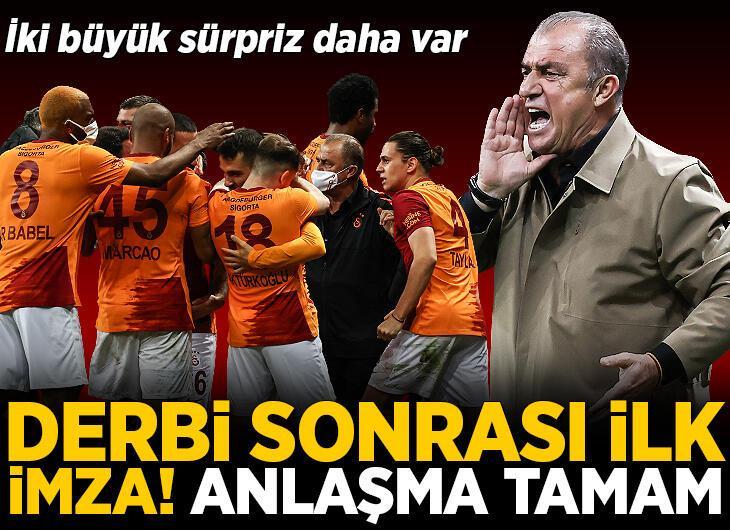 Galatasaray'dan Beşiktaş derbisi sonrası ilk imza! 2 yıllık anlaşma sağlandı