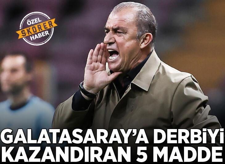 Fatih Terim, Beşiktaş'ı böyle mat etti! İşte o 5 madde