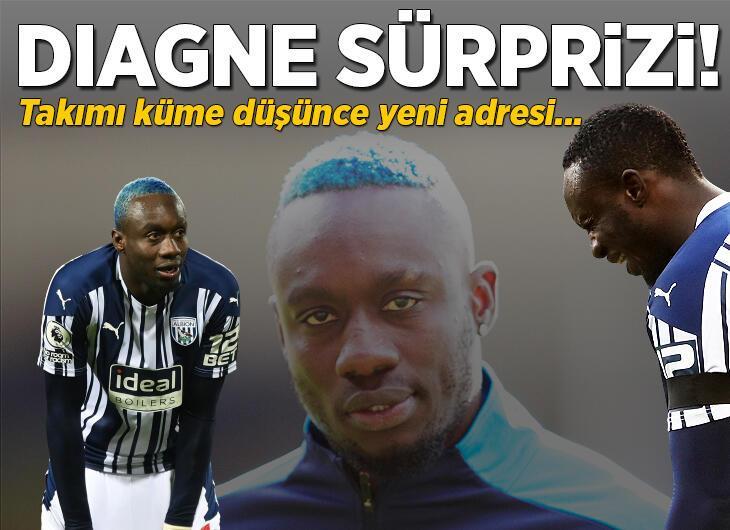 Mbaye Diagne sürprizi! Galatasaray gönderdi ama West Bromwich Albion küme düşünce...