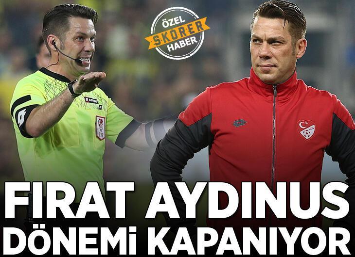 Süper Lig'de bir dönem kapanıyor! Fırat Aydınus
