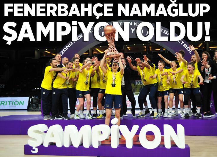 Fenerbahçe Öznur Kablo şampiyon oldu