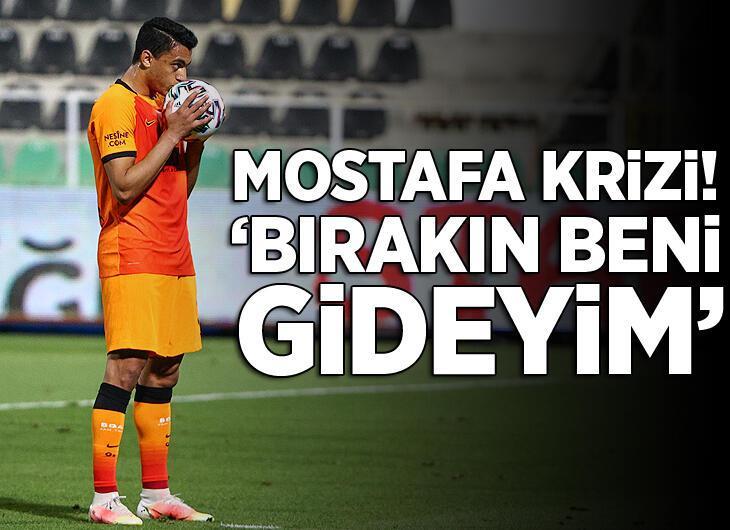 Galatasaray'da büyük kriz! Mostafa Mohamed: 'İzin verin gideyim'