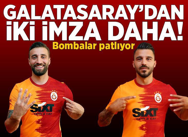 Galatasaray'da iki imza daha yolda! Yıllık ücretleri bile belli oldu