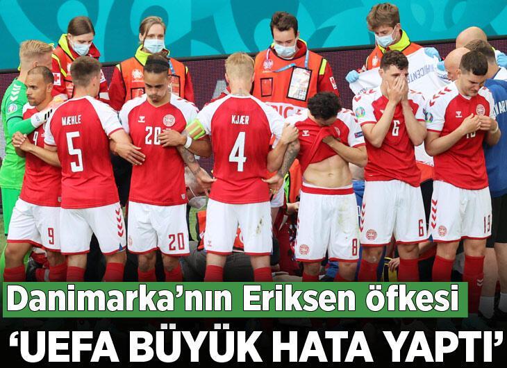 Danimarka kızgın: 'UEFA büyük hata yaptı'