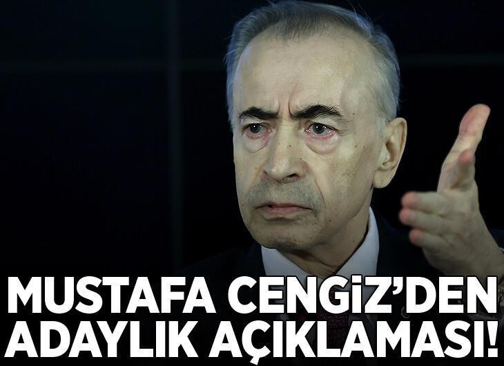 Galatasaray Başkanı Mustafa Cengiz konuşuyor