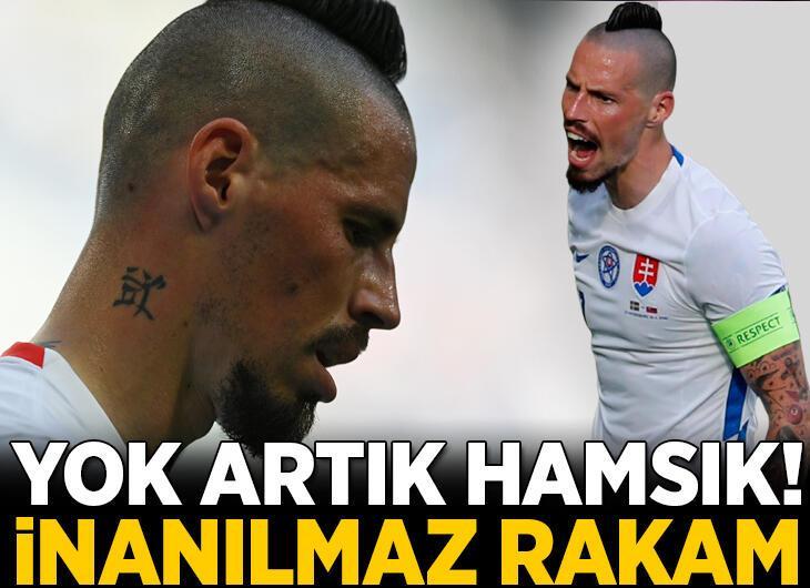 Yok artık Marek Hamsik! İnanılmaz rakam