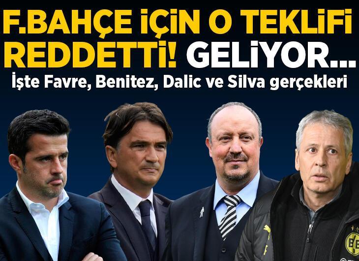 İşte Lucien Favre, Marco Silva, Zlatko Dalic ve Rafael Benitez gerçekleri! Fenerbahçe için o teklifi reddetti, geliyor...