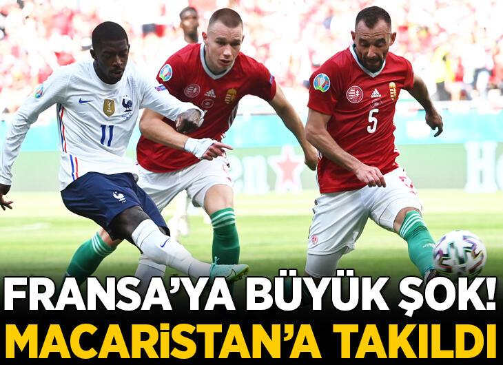 Fransa'ya Macaristan şoku! 2 gol sesi