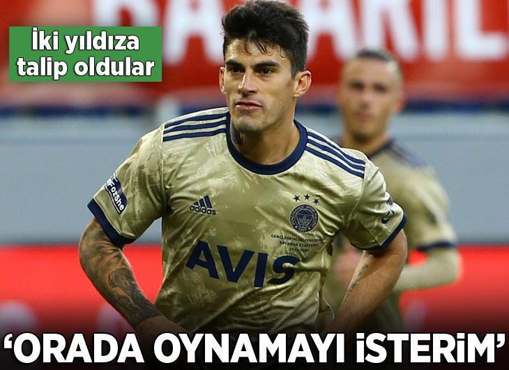 Fenerbahçe'nin iki yıldızına birden talip oldular!