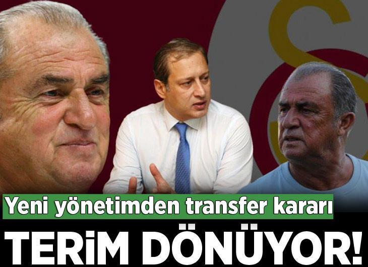 Galatasaray'da Fatih Terim Florya'ya geri dönüyor!