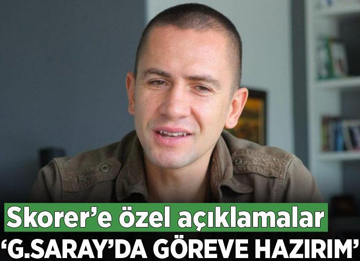 """Emre Aşık, Skorer'e konuştu: """"Galatasaray'da görev almaya hazırım"""""""