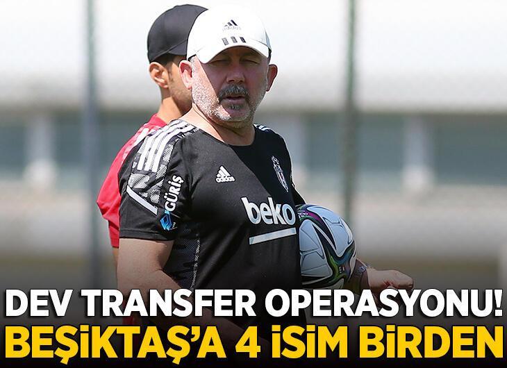 Beşiktaş'ta dev transfer operasyonu! 4 isim birden…