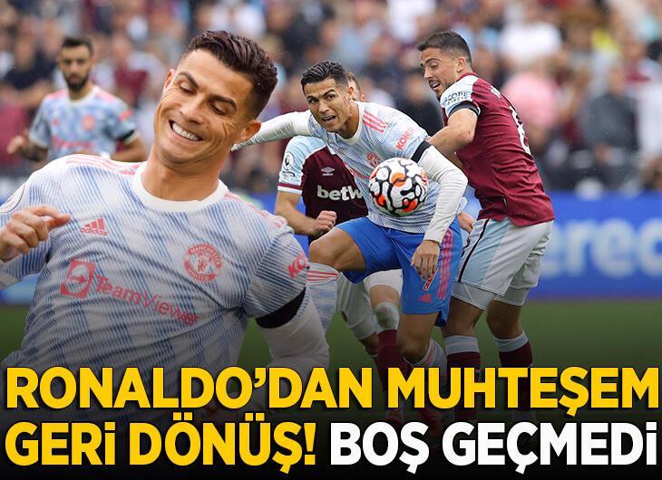 Cristiano Ronaldo durdurulamıyor! 3 maçta da boş geçmedi