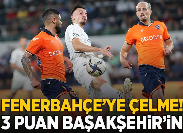 Başakşehir - Fenerbahçe: 2-0