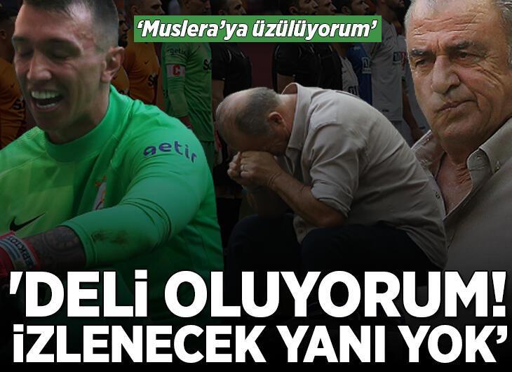 """Galatasaray-Alanyaspor maçı sonrası olay sözler: """"Deli oluyorum! İzlenecek yanı yok"""""""