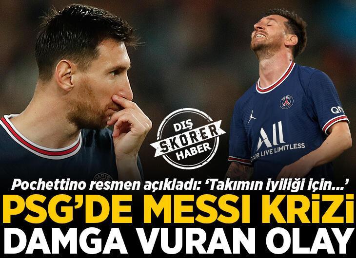 PSG-Lyon maçına damga vuran olay! Lionel Messi'nin o hareketi Avrupa'da manşet oldu: 'Öfke dolu, sinirli!'