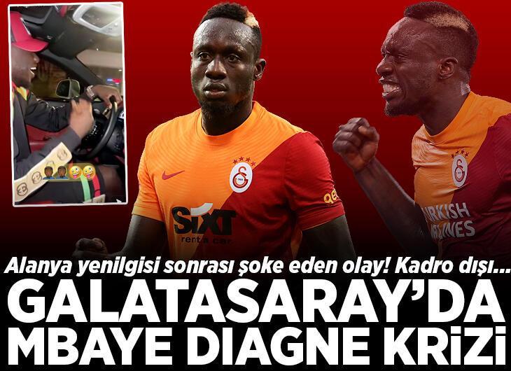 Galatasaray'da Diagne krizi kapıda! Alanyaspor maçı sonrası flaş paylaşım