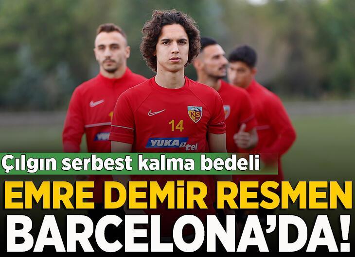 Barcelona, Emre Demir'i transfer etti