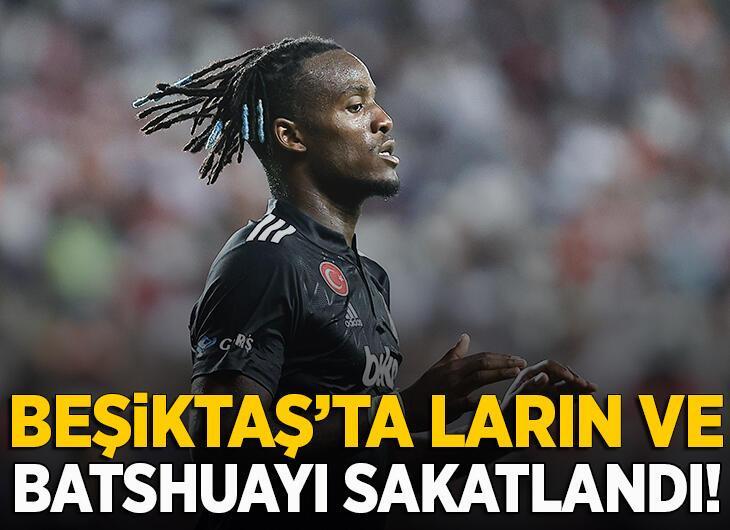 Beşiktaş'tan Larin ve Batshuayi açıklaması!