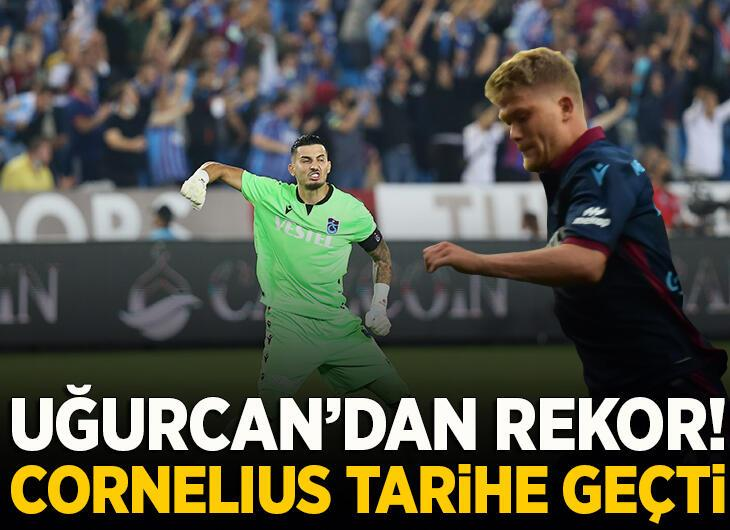 Trabzonspor'da Cornelius tarihe geçti!
