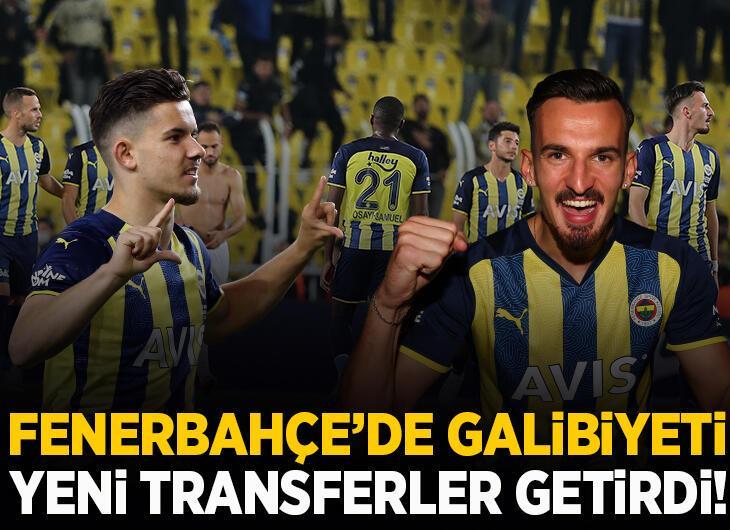 Fenerbahçe'de yeni transferler galibiyete damga vurdu!