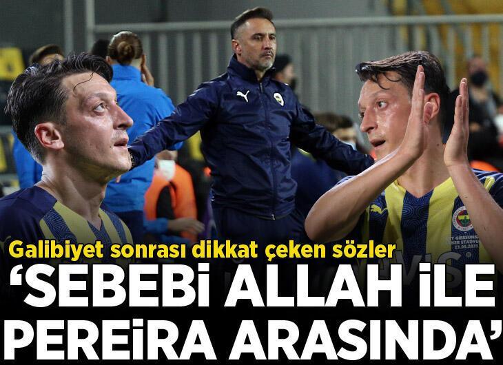 Fenerbahçe maçı sonrası dikkat çeken sözler! 'Sebebi Allah ile Pereira arasında'