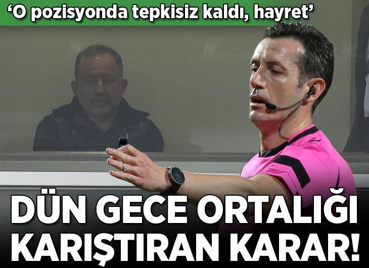 Başakşehir - Beşiktaş maçı sonrası VAR hakemine olay yorum! 'Tepkisiz kaldı, hayret veren sükut hali'