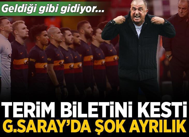 Galatasaray'da şok ayrılık! Fatih Terim biletini kesti, geldiği gibi gidiyor...