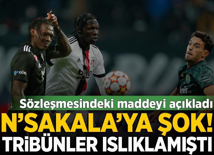 Beşiktaş'ta Fabrice N'Sakala'ya şok!