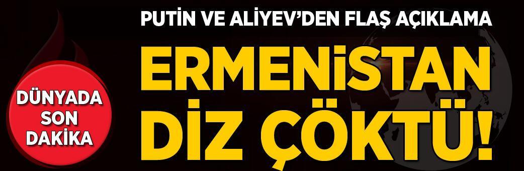 Son dakika: Zafer Azerbaycan'ın! Ermenistan diz çöktü...