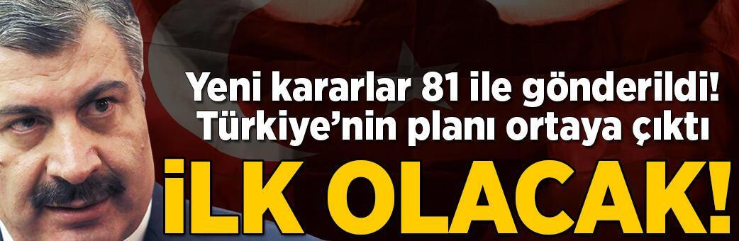 Son dakika... Türkiye'nin planı ortaya çıktı! İlk olacak...
