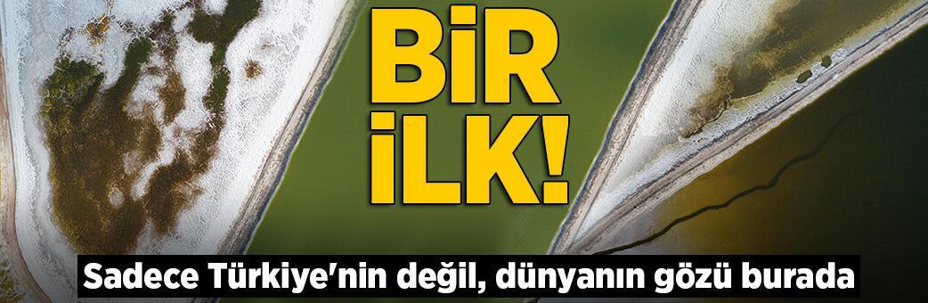 Sadece Türkiye'nin değil, dünyanın gözü burada! Bir ilk