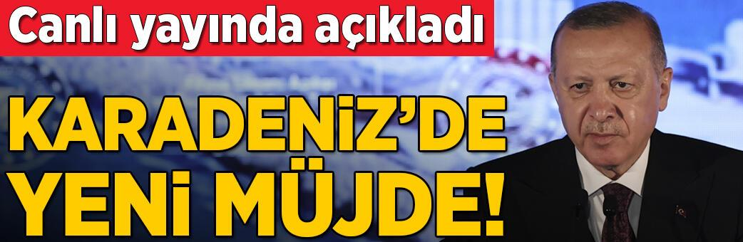 Cumhurbaşkanı Erdoğan müjdeyi açıkladı!