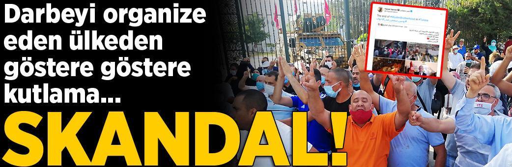 Darbeyi organize eden ülkeden rezil mesajlar!