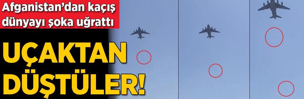 Uçaktan düştüler! Dünyada şok etkisi yarattı