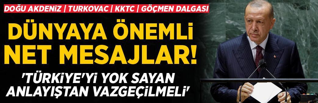 Cumhurbaşkanı Erdoğan BM'de ilan etti! 'Onaylayacağız'