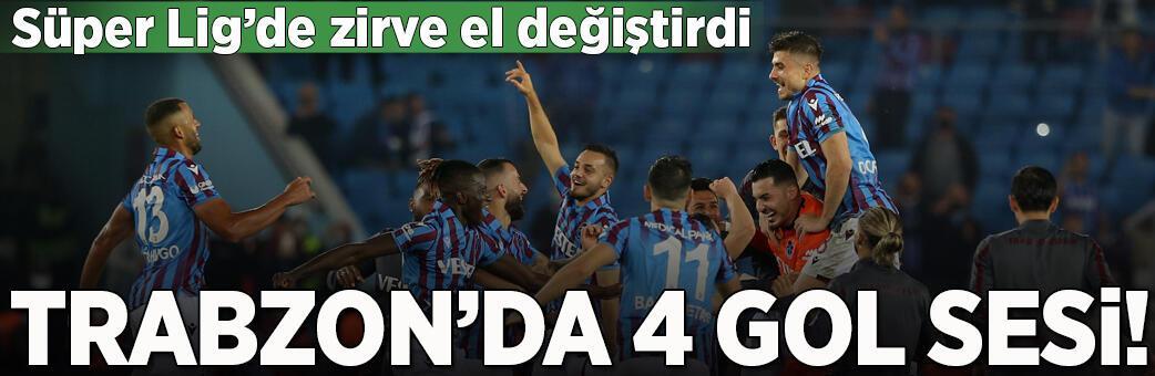 Trabzonspor - Fenerbahçe: 3-1