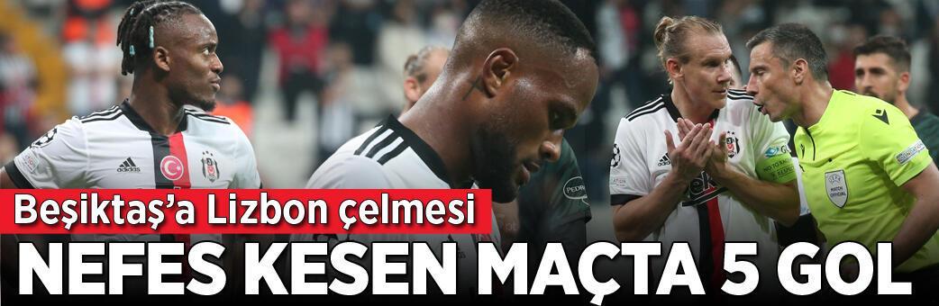 Beşiktaş - Sporting Lizbon: 1-4