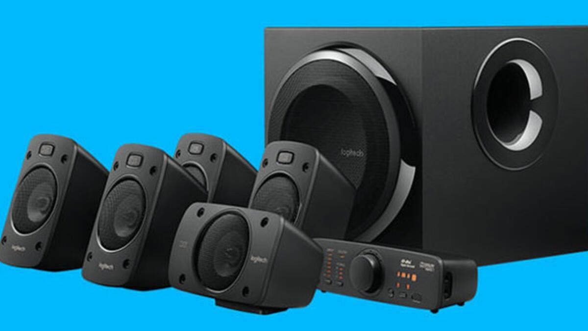 Logitech Z906 inceleme: Apartmanda huzuru kaçıracak güçlü ses - Teknoloji  Haberleri - Milliyet