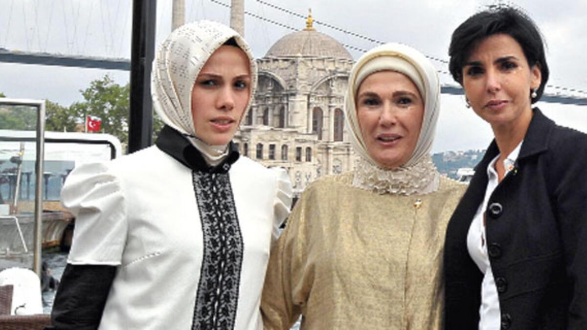 Emine Erdoğan, Dati'yle Boğaz'da yemek yedi - Yaşam Haberleri