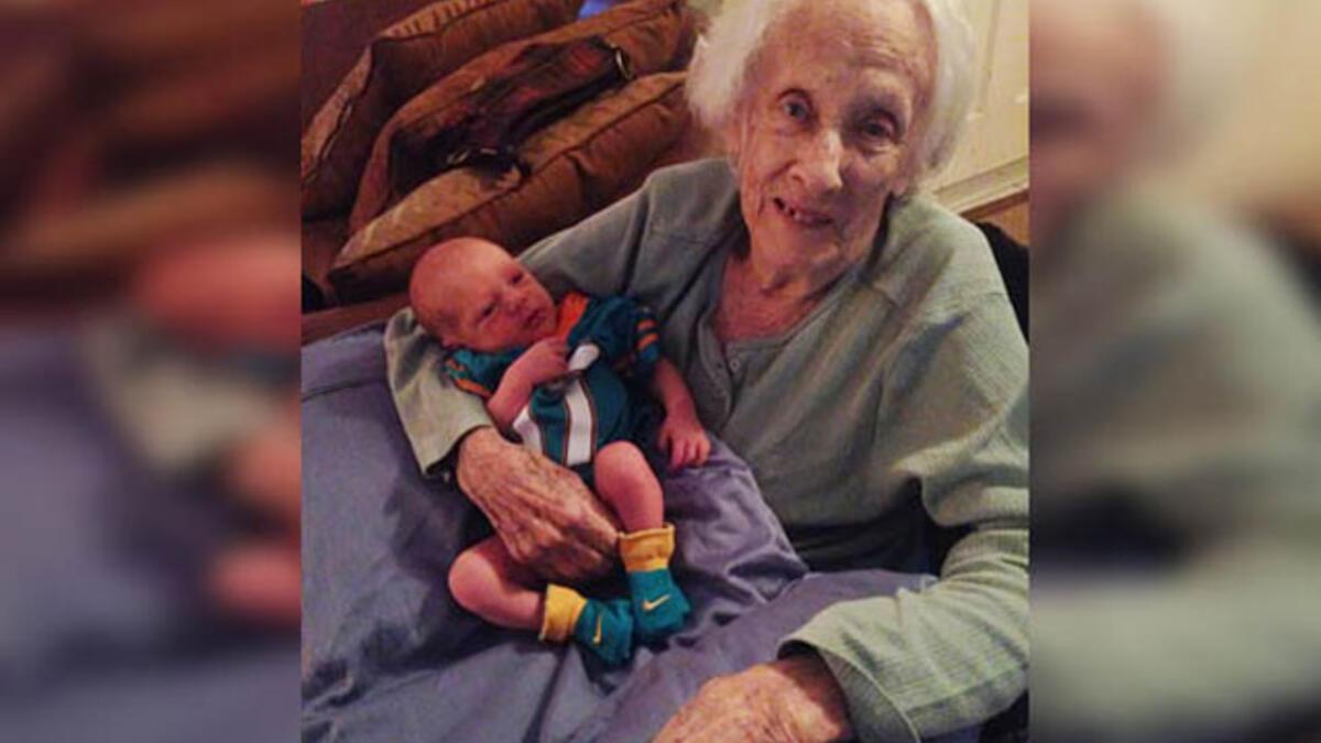 101 yaş doğum yaptı - Doğum Haberleri